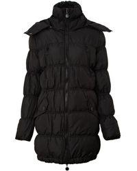 Ichi - Long Puffa Jacket - Lyst