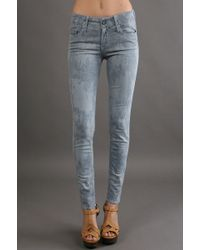 Black Orchid Colored Jegging gray - Lyst