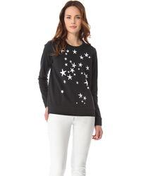Tibi Starfish Sweatshirt white - Lyst