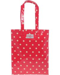 Cath Kidston - Oilcloth Book Bag - Lyst