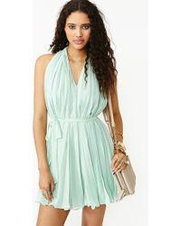 Nasty Gal Sweetly Pleated Dress - Lyst