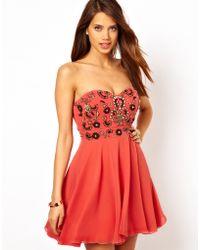 TFNC Prom Dress with Jewel Bustier - Lyst