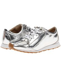 Elizabeth And James Low-Tops & Trainers silver - Lyst