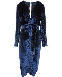 Gucci 3/4 Length Dress black - Lyst