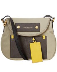 Marc By Marc Jacobs Preppy Leather Colourblock Natasha Crossbody Bag - Lyst