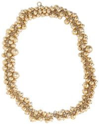 Emilio Pucci All Over Boules Necklace gold - Lyst