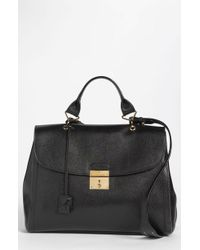 Marc Jacobs Leather Satchel - Lyst