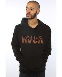 RVCA The Vintage Rvca Hoody in Black - Lyst
