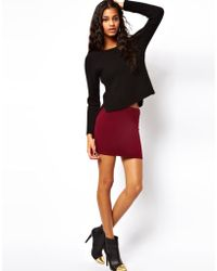 ASOS Collection Asos Mini Skirt in Jersey - Lyst