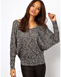 ASOS Collection Jumper with Cross Back  - Lyst