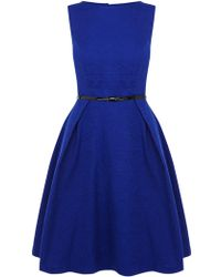 Coast Allure Short Dress blue - Lyst