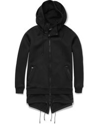 Givenchy Doublelayered Hooded Coat - Lyst