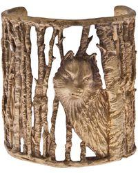 Alkemie - Wolf in Woods Cuff - Lyst