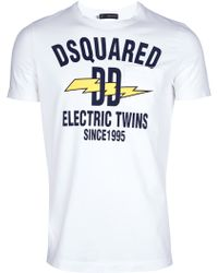 DSquared² Print T-shirt - Lyst