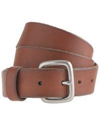 J.Crew Leather Brody Belt - Lyst