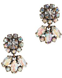 J.Crew Iridescent Earrings - Lyst