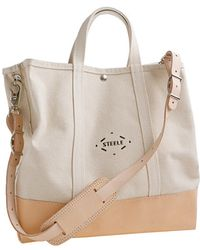 J.Crew Steele Canvas Basket Co For Jcrew Coal Bag - Lyst