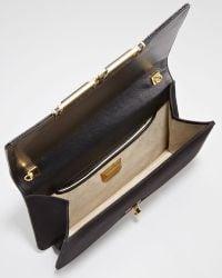 Kara Ross Priscilla Sequined Clutch Bag - Lyst