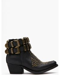 Nasty Gal Lovich Studded Boot - Lyst