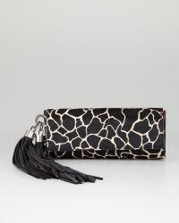 Z Spoke by Zac Posen - Claudette Calf Hair Tassel Clutch Bag - Lyst