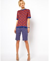 ASOS Collection | Asos City Shorts in Geo Print | Lyst