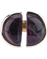 Nina Ricci - Chunky Stone Ring - Lyst