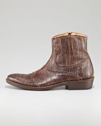 True Religion - Laseretched Ankle Boot - Lyst