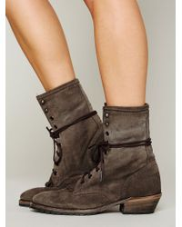 Vintage Shoe Company - Galveston Field Boot - Lyst