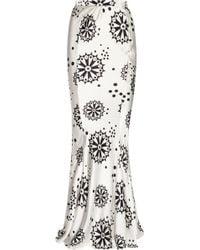 Duro Olowu | Printed Silk Satin Maxi Skirt | Lyst