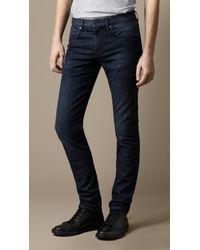 Burberry Shoreditch Indigo Stretch Skinny Fit Jeans - Lyst
