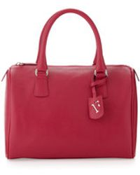 Furla Dlight Small Saffiano Satchel Bag - Lyst