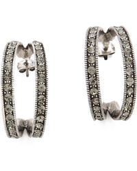 Giles & Brother - Ceres Hoop Earrings - Lyst