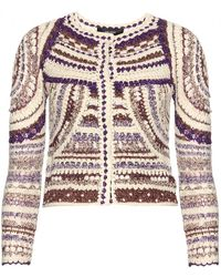 Isabel Marant Weston Knit Jacket - Lyst