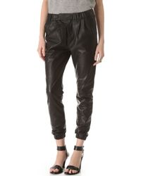 J Brand Blair Leather Pants - Lyst