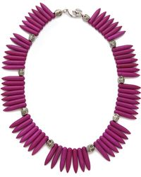 Made Her Think - Tooth Skulls Necklace - Lyst
