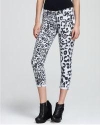 Retrosuperfuture - Hudson Jeans Harkin Skinny Crop in Leopard - Lyst