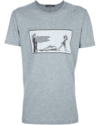 Dolce & Gabbana Photo Print T-Shirt - Lyst