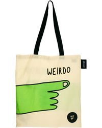 Lazy Oaf Weirdo Tote Bag - Lyst