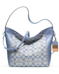 Coach Legacy Weekend Printed Signature Shoulder Bag - Lyst