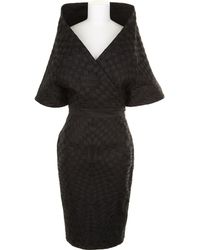 Gareth Pugh Kimono Dress in Silk and Polyester - Lyst
