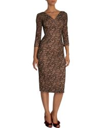 L'Wren Scott Lace Pencil Dress - Lyst