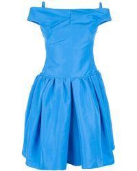 Carven Skater Dress - Lyst