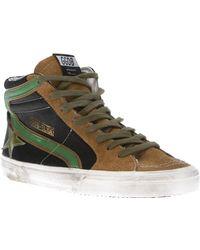 Golden Goose Deluxe Brand Slide Hi Top Sneaker - Lyst