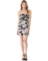 Kelly Wearstler Strapless Dress - Lyst