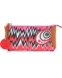 M Missoni - Graphic Zig Zag Wallet - Lyst