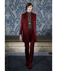 Tory Burch Fall 2013 Runway Look 24 - Lyst
