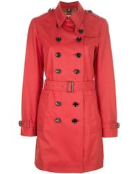 Burberry Brit - Crombrooks Trench Coat - Lyst