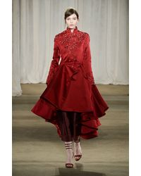 Marchesa Fall 2013 Runway Look 1 - Lyst