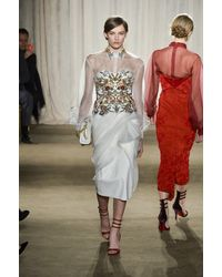 Marchesa Fall 2013 Runway Look 6 - Lyst