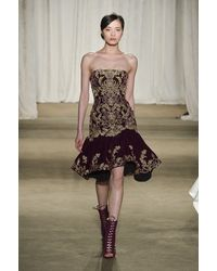 Marchesa Fall 2013 Runway Look 18 - Lyst